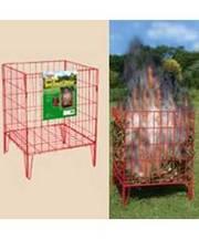 Bosmere Garden Incinerator 45x45x60cm Flatpack