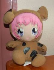Shuichi Plushie from Gravitation Anime.Yaoi. Cute